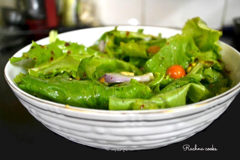 chicken lettuce salad