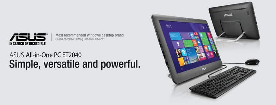 ASUS All in One PC ET2040