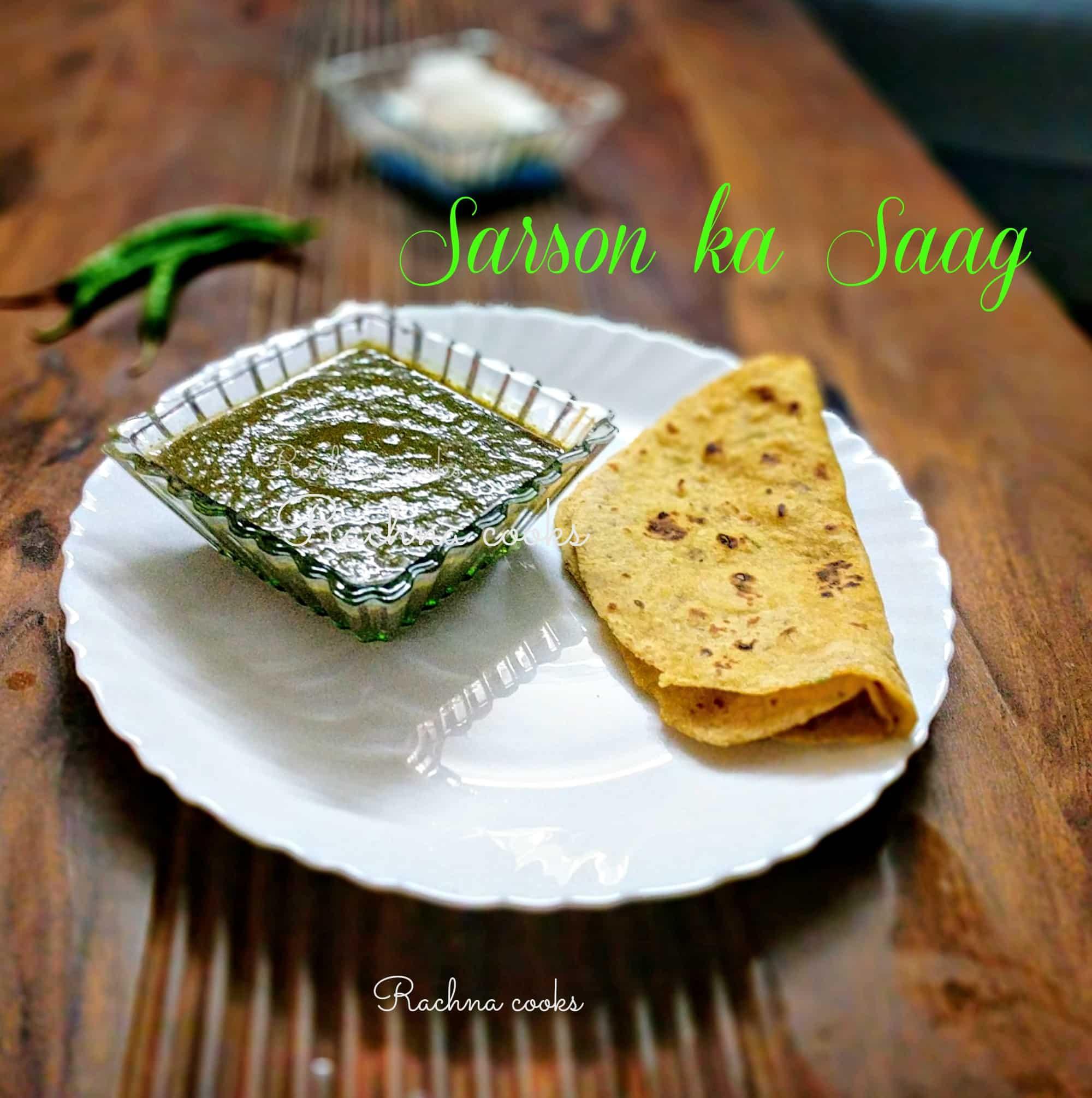 Punjabi sarson ka saag