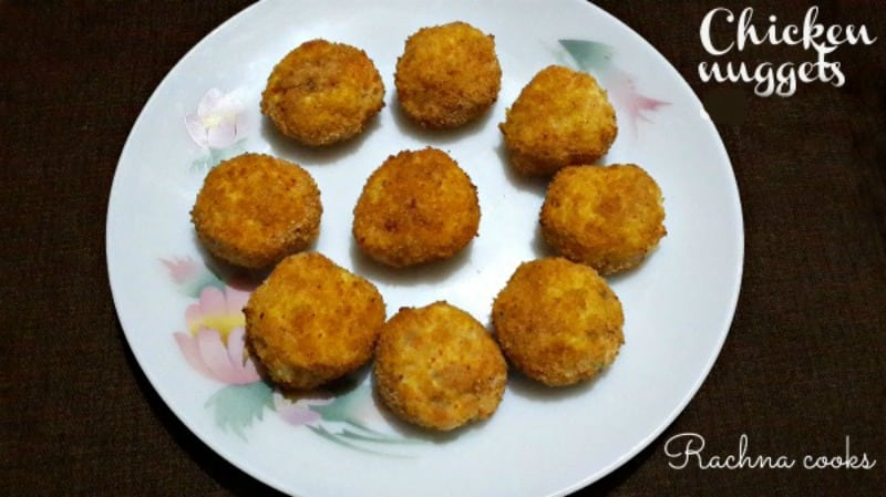 Chicken nuggets Indian style