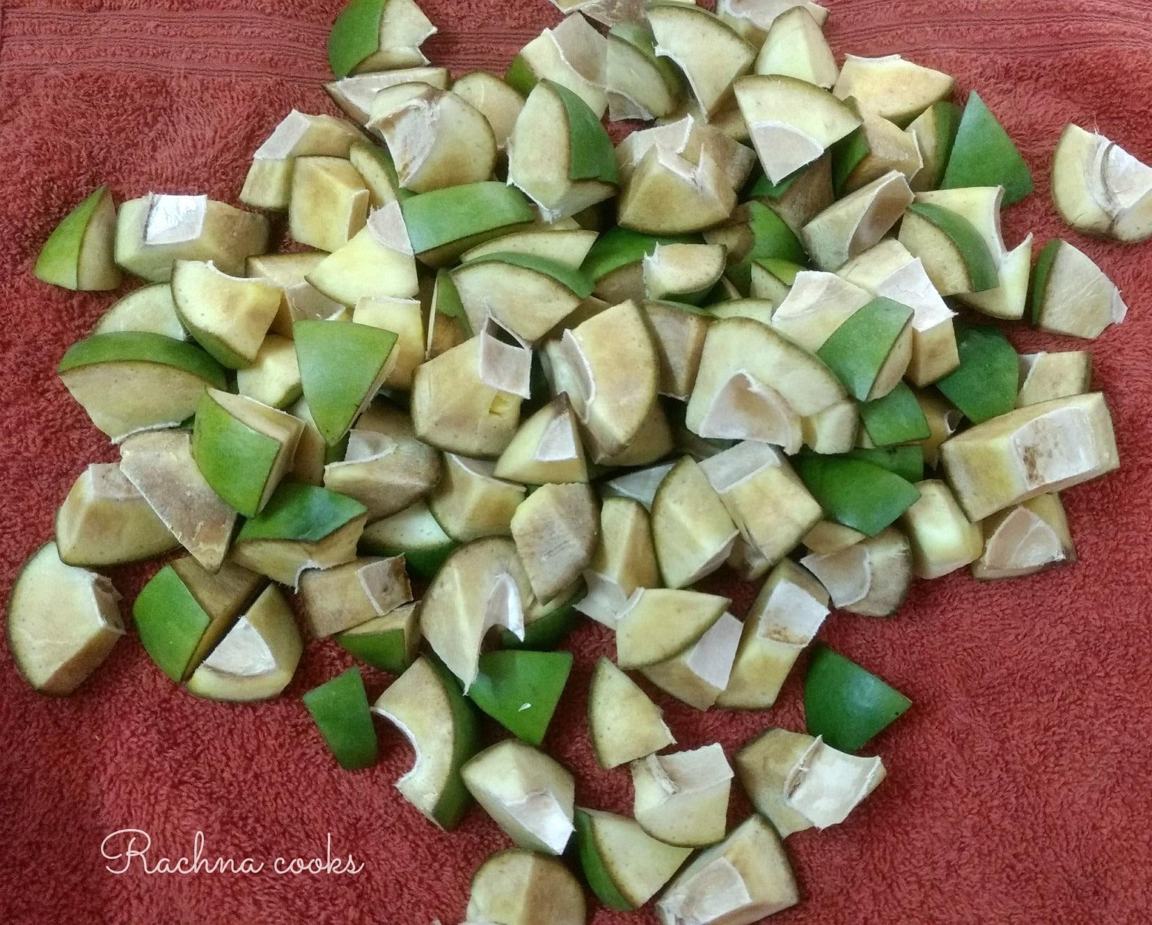 avakaya recipe mango pickle