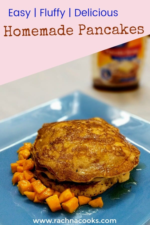 easiest fluffy pancakes