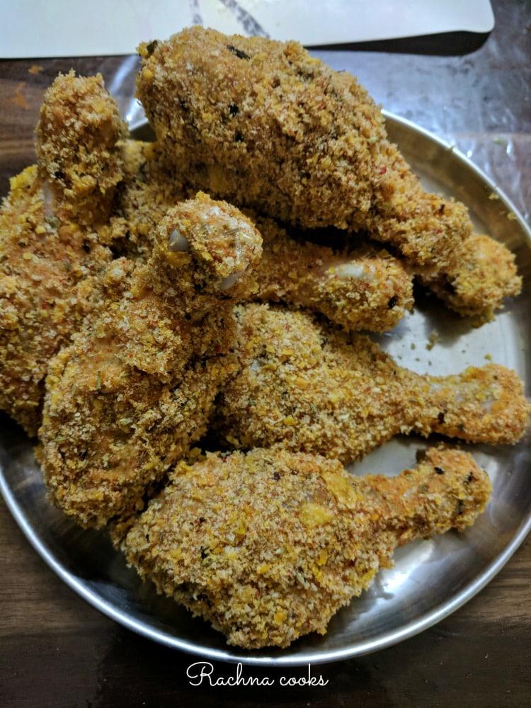 crispy air fryer fried chicken