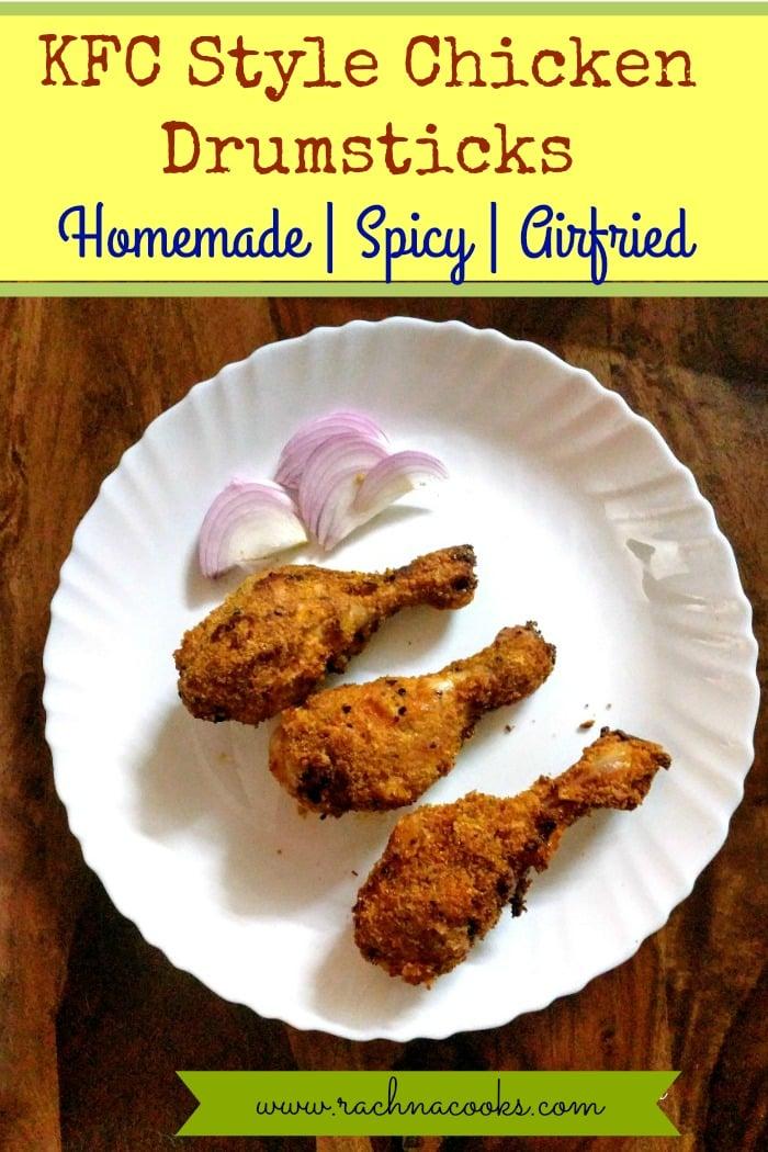 kfc style chicken drumsticks airfryer