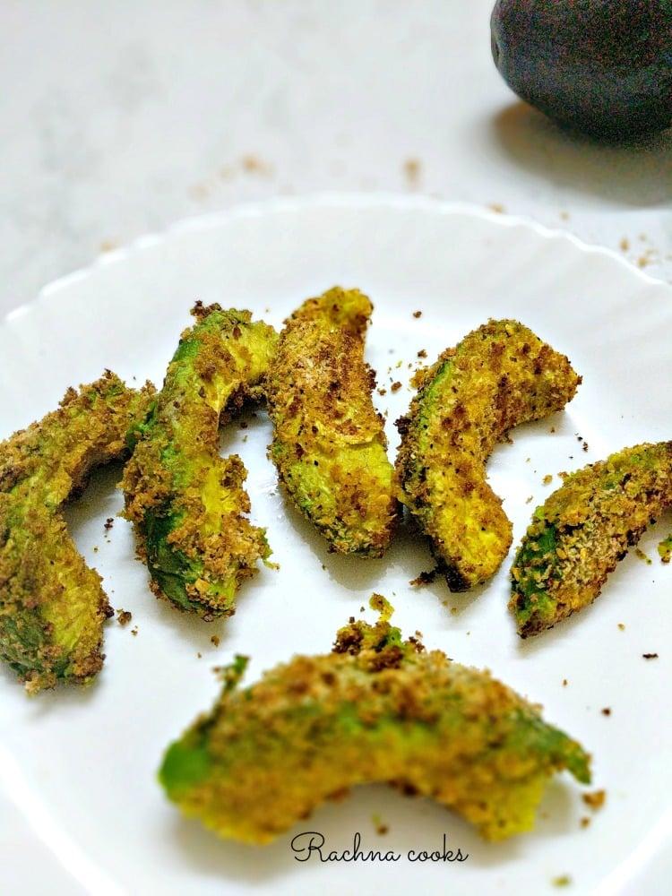 avocado wedges
