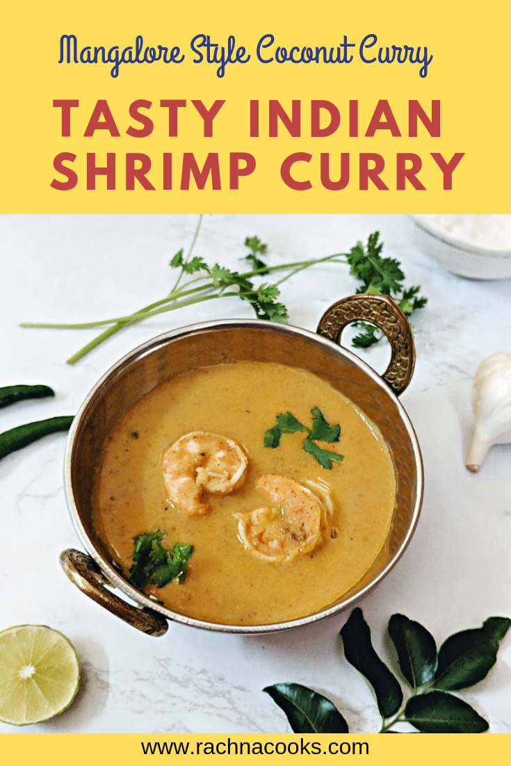 Mangalore Shrimp curry