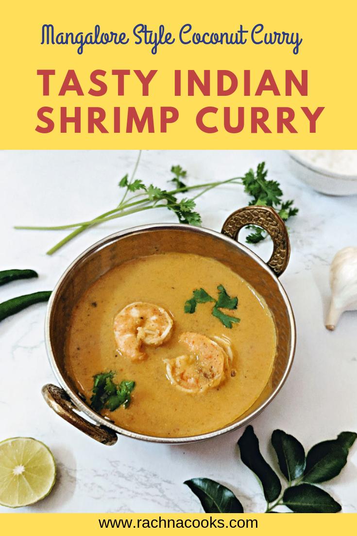 Mangalore Shrimp curry
