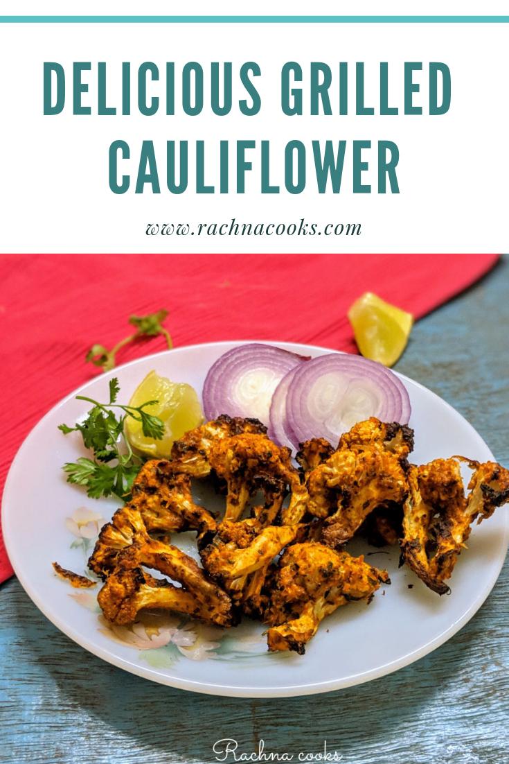 grilled cauliflower recipe
