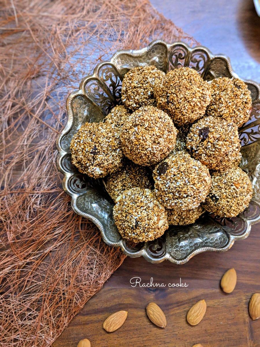Amaranth balls