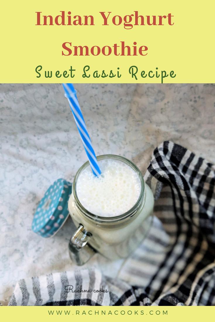 sweet lassi recipe