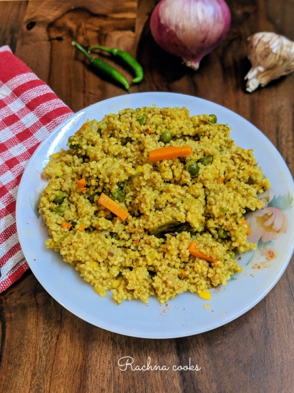 foxtail millet khichdi recipe