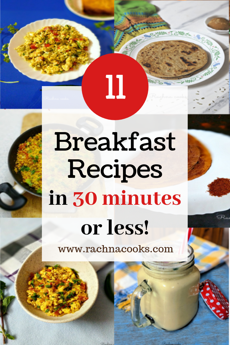 11 quick breakfast ideas