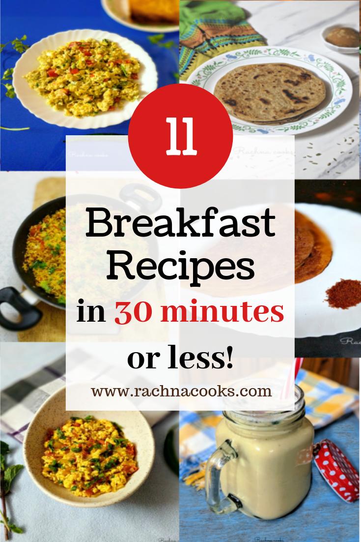 11 quick breakfast ideas