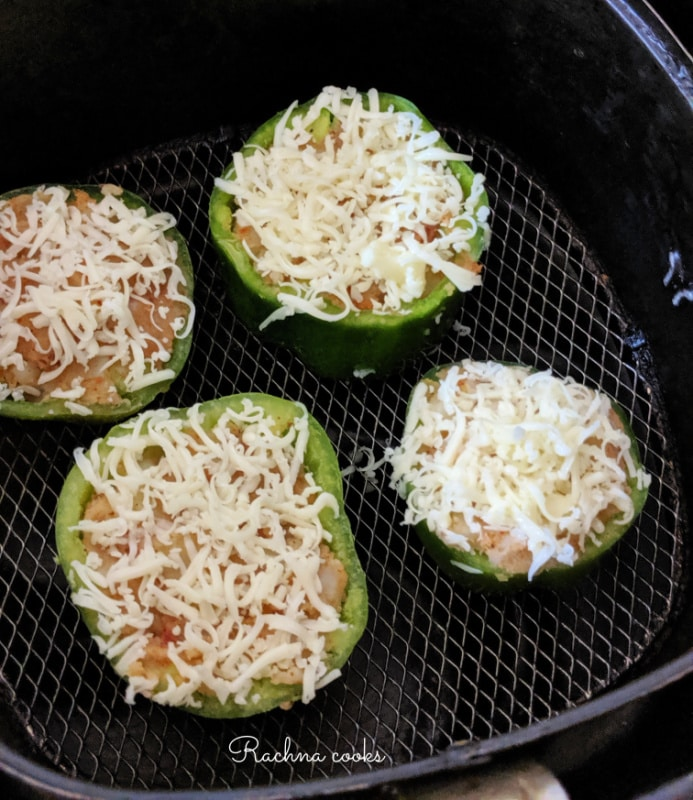 stuffed capsicum recipe