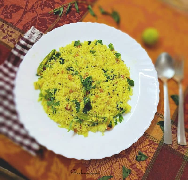 easy lemon rice recipe