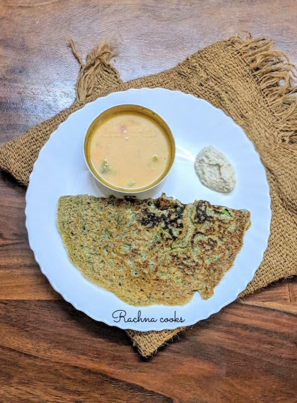 jowar and dal cheela