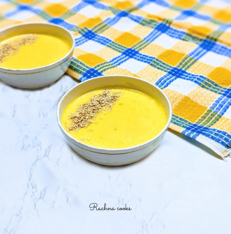 easy vegan pumpkin soup