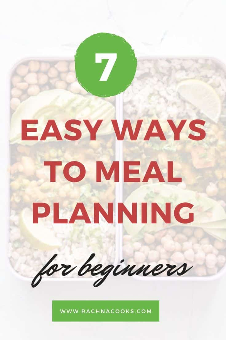 meal plan beginners