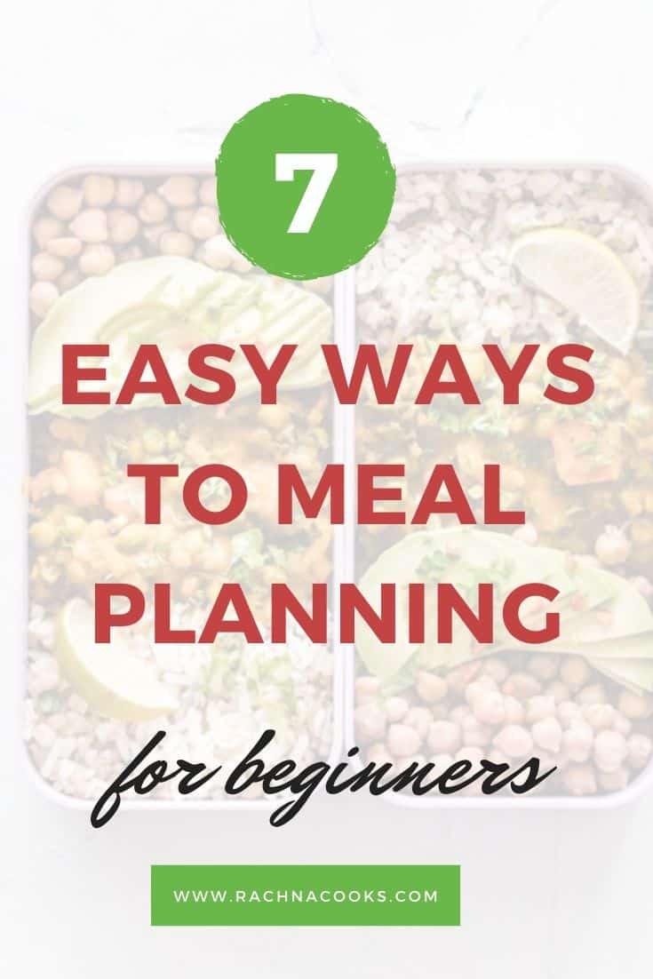 meal plan beginners