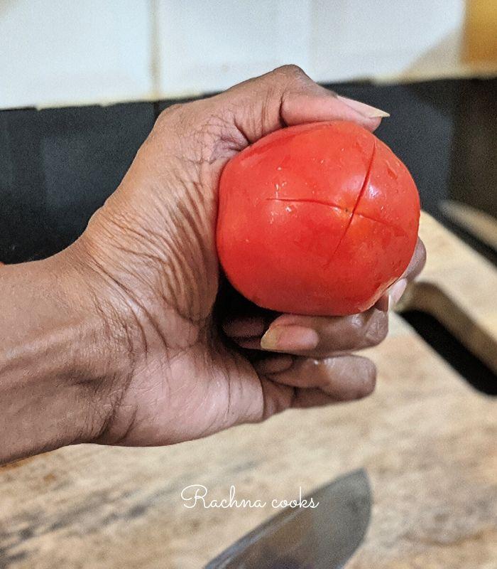homemade tomato puree