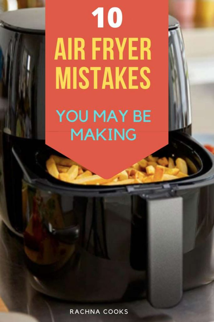 common mistakes airfryer