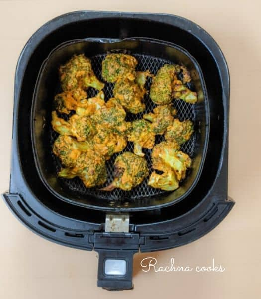 Air fryer broccoli