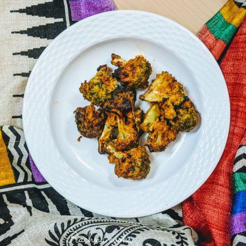 Air fryer malai broccoli