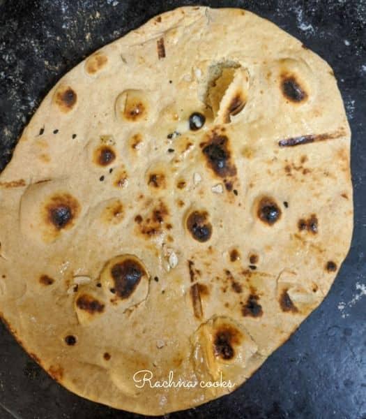 whole wheat naan no yeast recipe