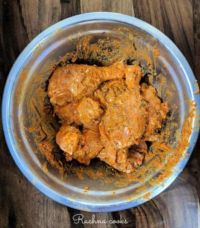 airfryer tandoori chicken