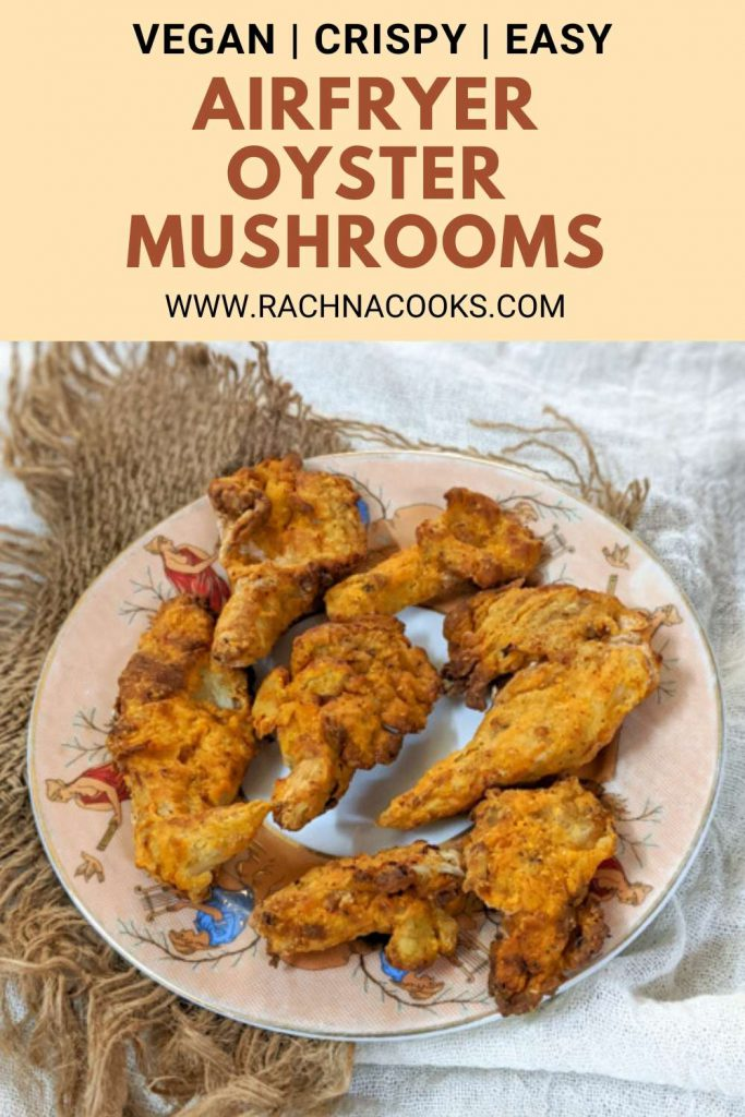 air fryer oyster mushroom recipe