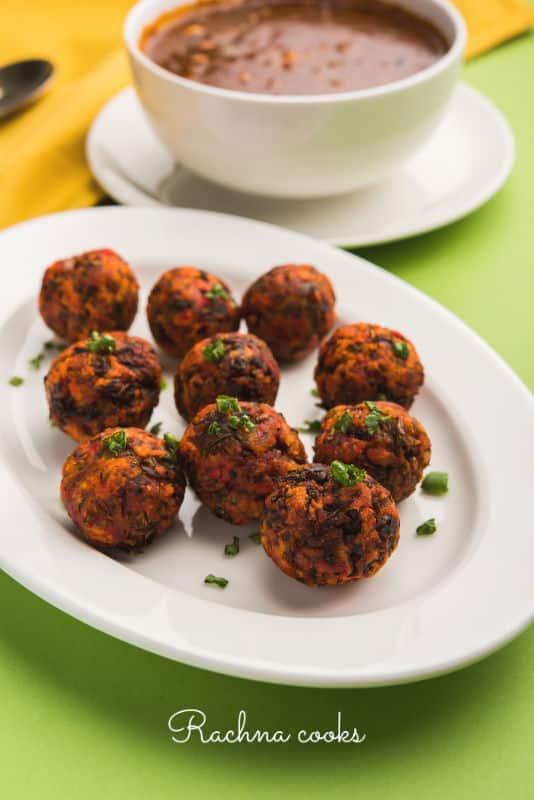 veg manchurian balls