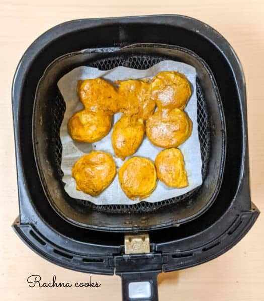 potato pakora Air fryer