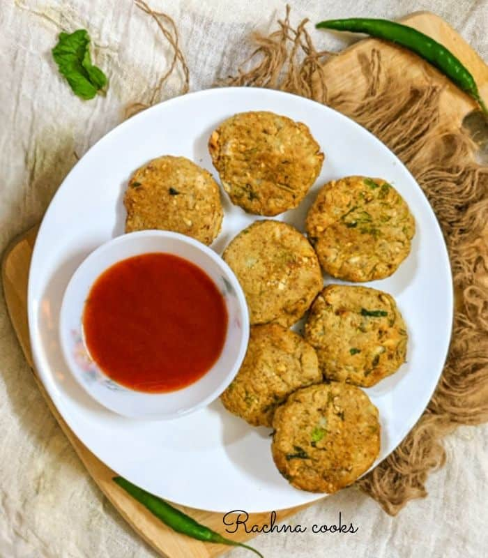 Air fryer plantain patties
