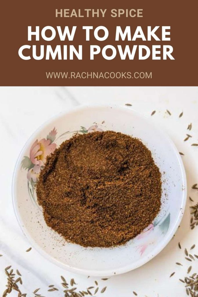 how to make cumin powder